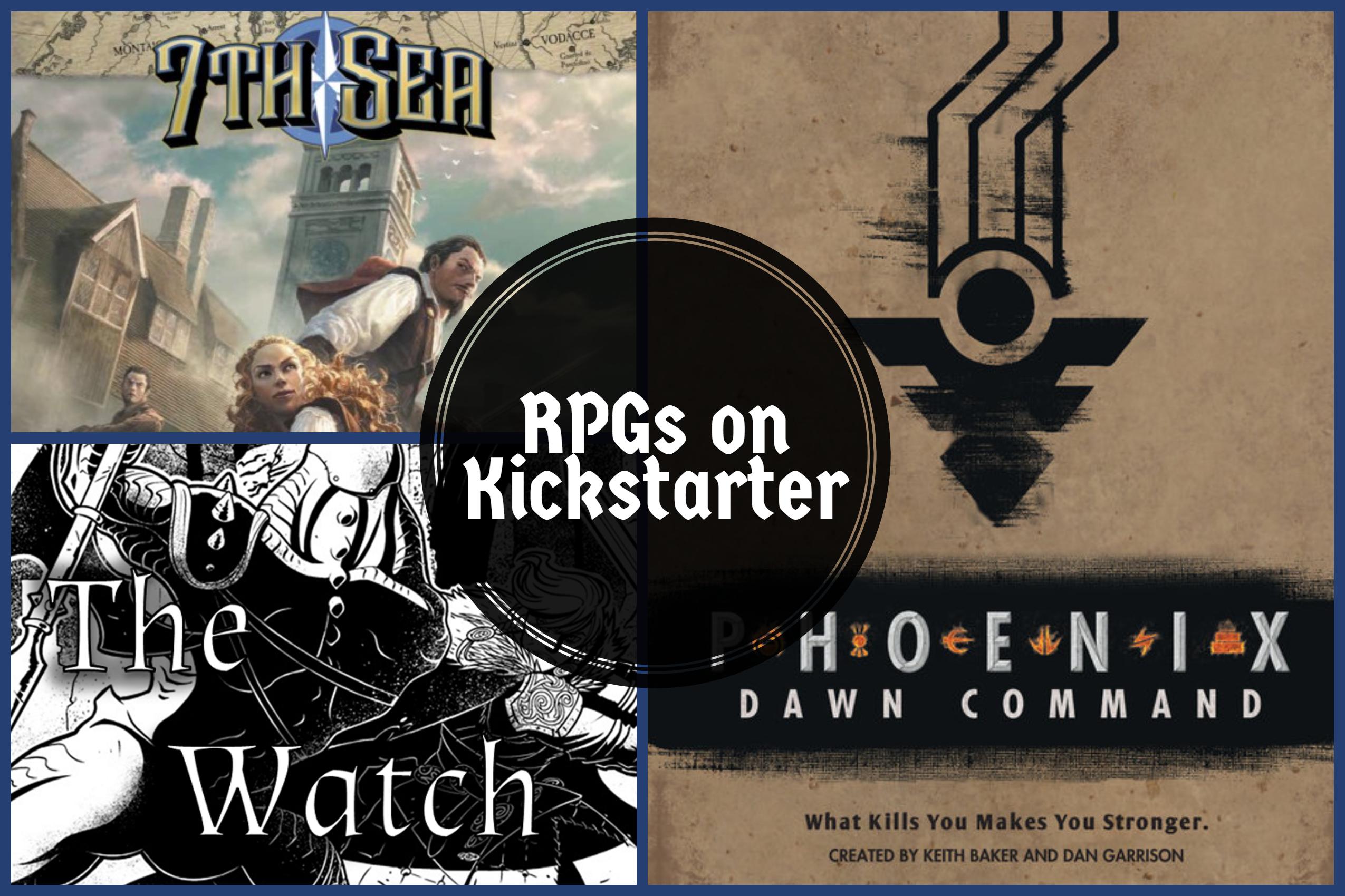 RPGs on Kickstarter