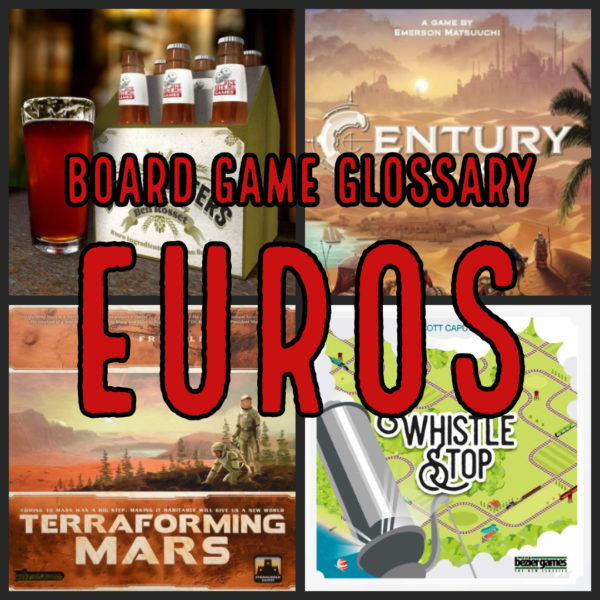 Board Game Glossary -
