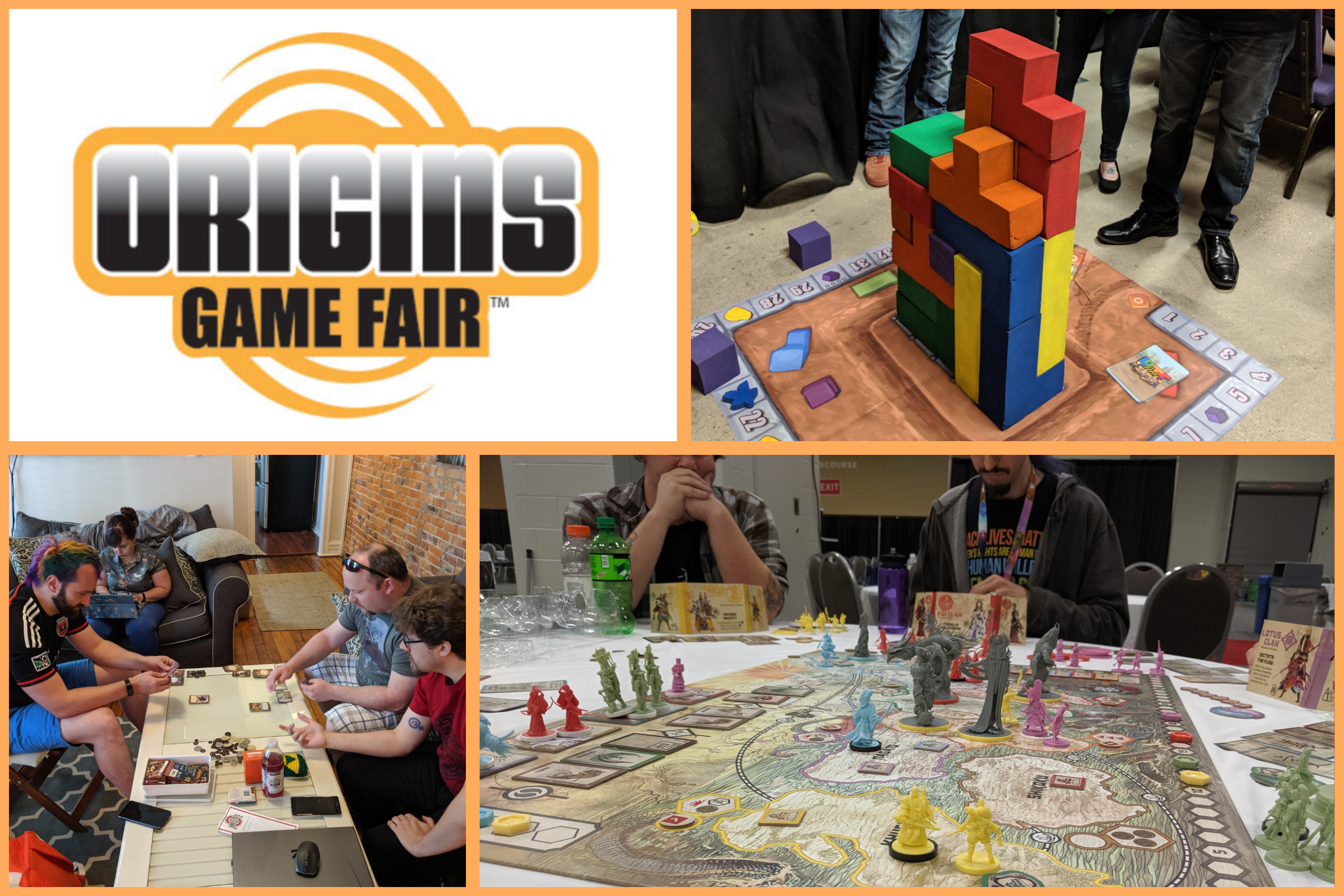 Origins 2019 Quickfire Reviews