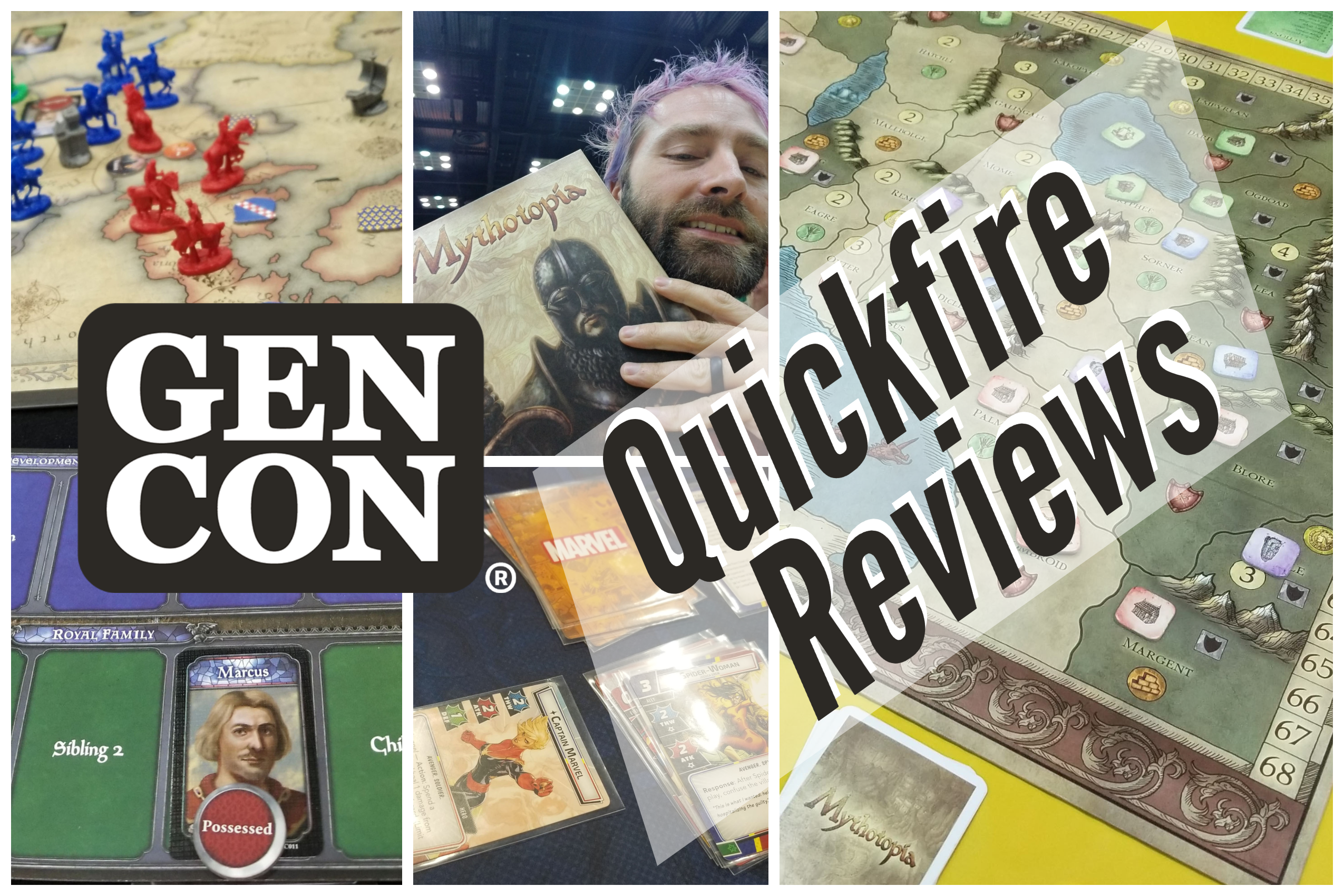 Quickfire Reviews – Gen Con