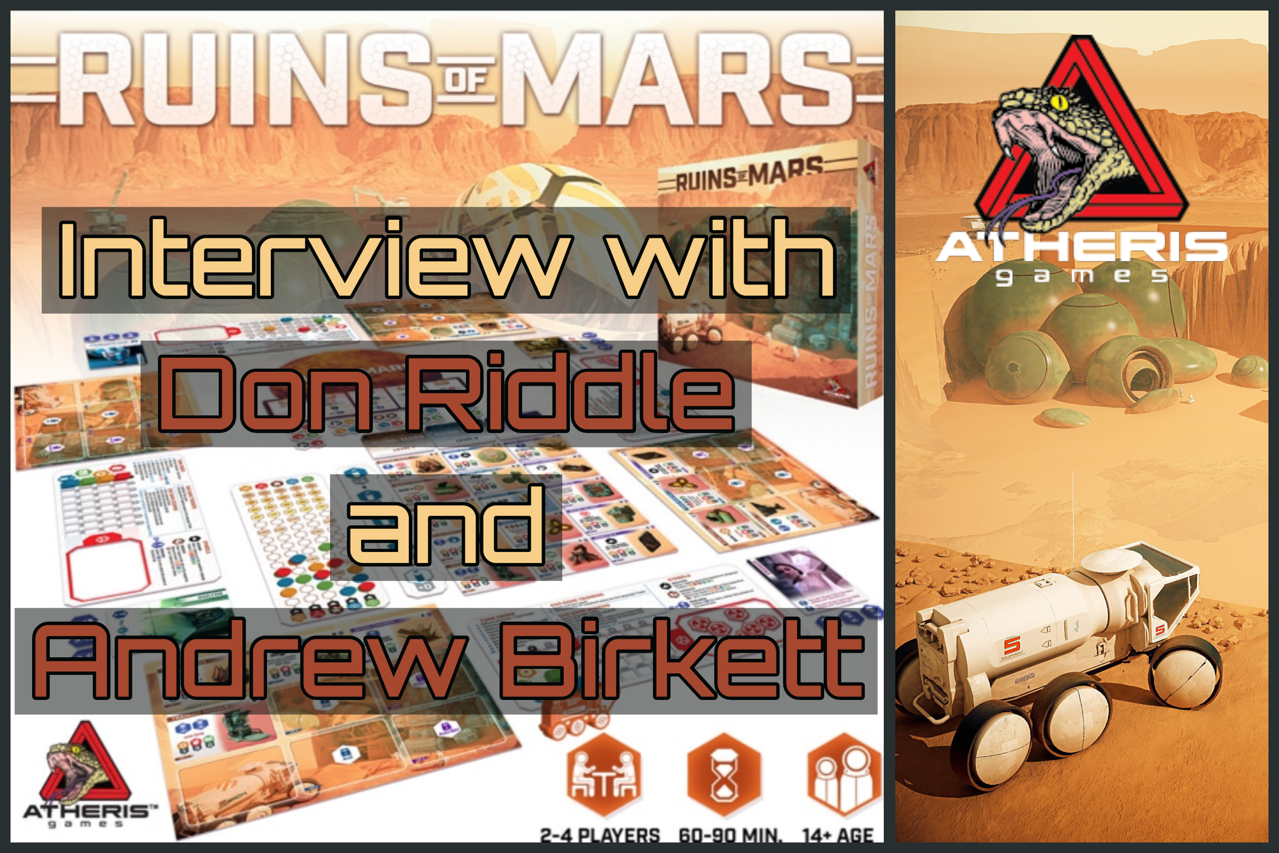 Ruins of Mars - Interview with Don Riddle and Andrew Birkett