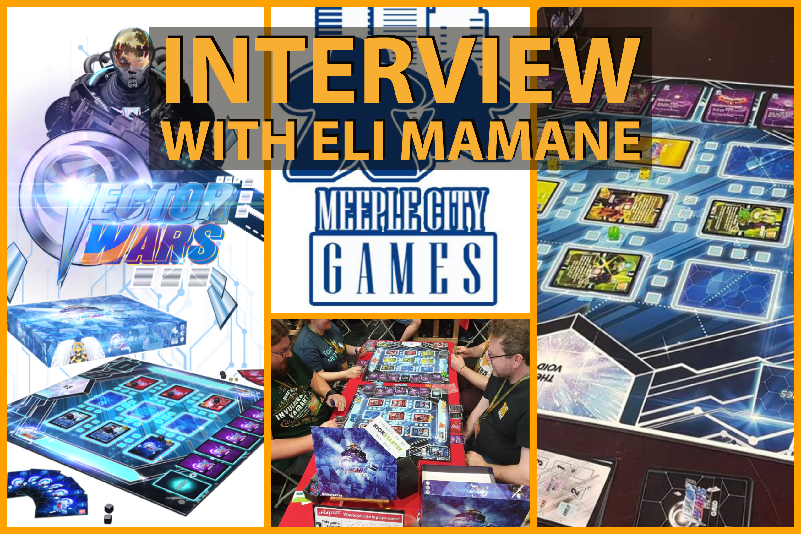 Vector Wars – Interview with Eli Mamane